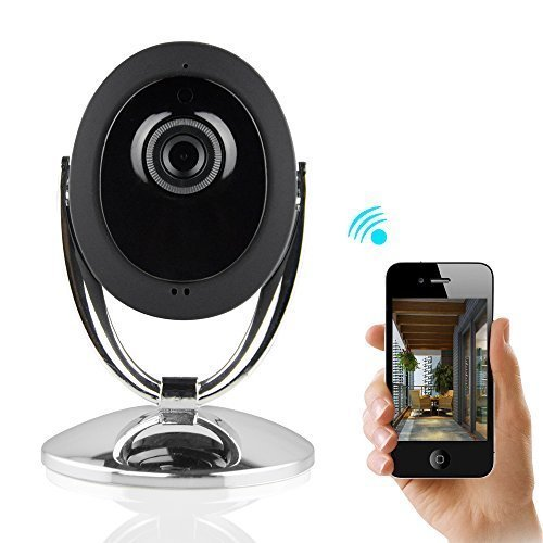 Review IP Camera, H.264 1280x720P P2P Wireless Wifi Home Security IP Camera with IR-CUT and Night Vi...