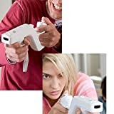 White 1Pc Game Zapper Gun Shooting For Nintendo Wii Remote Controller Durable High Quality