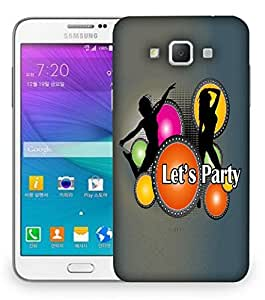 Snoogg Lets Party Designer Protective Back Case Cover For Samsung Galaxy Grand Max G7200