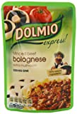 DOLMIO Express Bolognese Sauce Extra Mushroom 170 g (Pack of 8)
