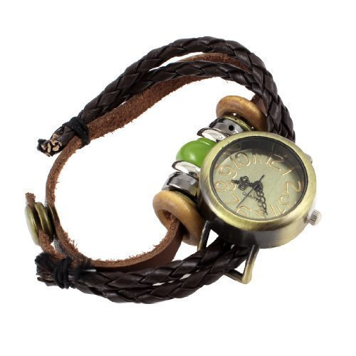 sourcingmapr-ethnic-style-beads-detailing-press-stud-button-string-wrist-watch