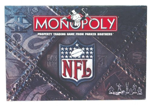 NFL Monopoly Limited Edition Gridiron Board Game (Property Brothers Season 1 compare prices)