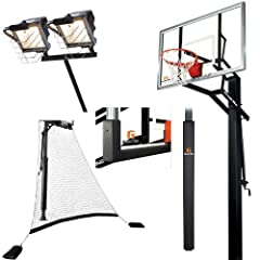 Goalrilla GLR GSII 60 Basketball System with Deluxe Hoop Light, Ball Return Net,... by Goalrilla