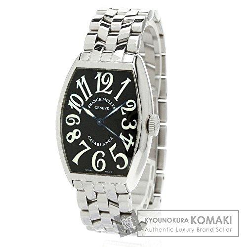 FRANCK MULLER(フランクミュラー) 5850 カサブランカ 腕時計 ステンレススチール/ステンレススチール メンズ (中古)