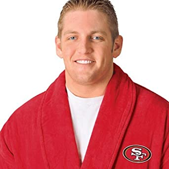 San Francisco 49ers White Robe by WinCraft