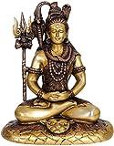 Exotic India Mahayogi Shiva - Brass Sculpture