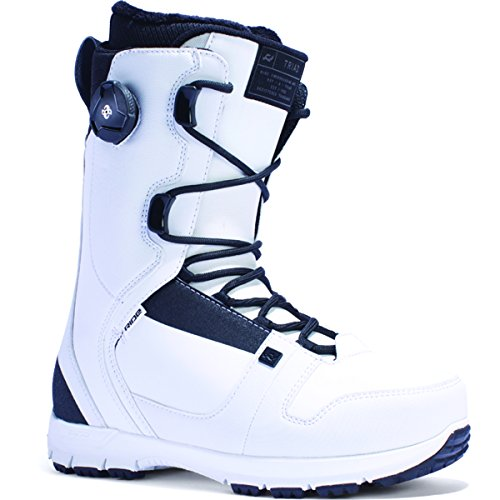 Ride Men's Triad: Snowboard Boots (White, 10)