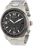 "Gucci Mens YA126238 ""G-Timeless"" Stainless Steel Watch"