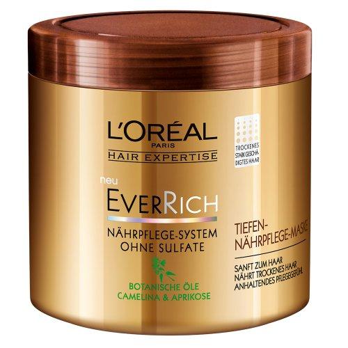 L'Oréal Paris EverRich Tiefen-Nährpflege-Maske, 200 ml