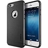 """iPhone 6 Case, Verus [Aluminum Metal Frame] iPhone 6 4.7"""" Case [Iron Shield] [Titanium Silver] - Extra Slim Fit Dual Layer Bumper Case - Verizon, AT&T, Sprint, T-Mobile, International, and Unlocked - Metal Case for Apple iPhone 6 4.7 Inch Late 2014 Model"""