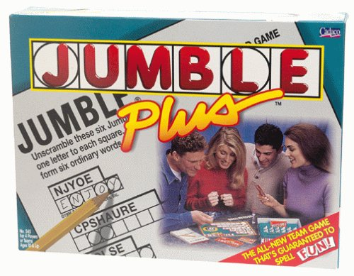 Jumble Plus crossword game - 1
