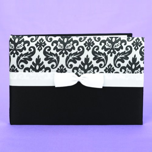 Enchanted Evening Black And White Guest Book