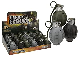 Set Of 3 Realistic Sounding Toy Hand Grenades