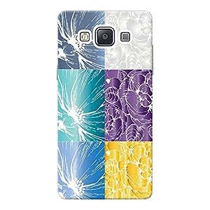 INKIF Burning Car Designer Case Printed Mobile Back Cover for Samsung Galaxy A5 (Mutlicolor)