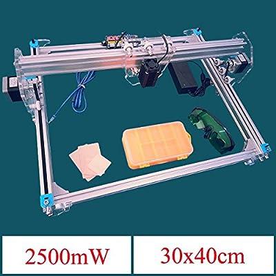 KAMOLTECH 2500mW A3 30x40cm Desktop DIY Violet Laser Engraver Picture CNC Printer Assembling Kits