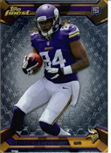 2013 Topps Finest Football Card #125 Cordarrelle Patterson Rookie Card Minnesota... by Topps