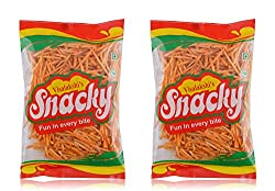 Visalakshi's Snacky Tapioca Stick Chips - 2 x 220 grams