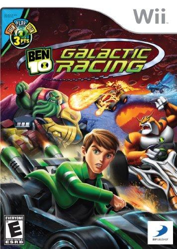 Ben 10 Galactic Racing - Nintendo Wii - 1