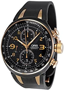 Oris Men's 674 7587 7764RS TT3 Chronograph Motor Sport Watch by Oris