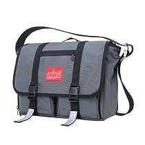 Manhattan Portage Trotter Junior Messenger Bag, Grey, Medium