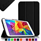 Fintie Samsung Galaxy Tab 4 7.0 (7-Inch) Smart Shell Case - Ultra Slim Lightweight Stand Cover, Black