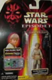 Star Wars Episode 1 Anakin Skywalker Action Figure W/comm Chip