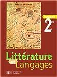 Litt�rature et langages, seconde. El�ve
