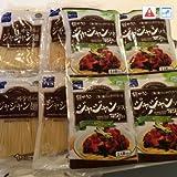 ジャジャン麺4人前セット【麺160g(1人前)×4個】+【ソース150g(1人前)×4個】