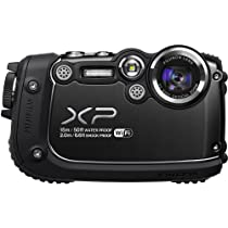 Fujifilm FinePix XP200 16MP Digital Camera with 3-Inch LCD (Black)