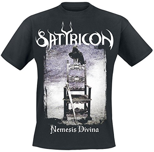 Satyricon Nemesis Divina T-Shirt nero S