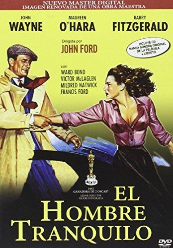 El Hombre Tranquilo DVD Remasterizada + BSO + Libreto [Edizione: Spagna]