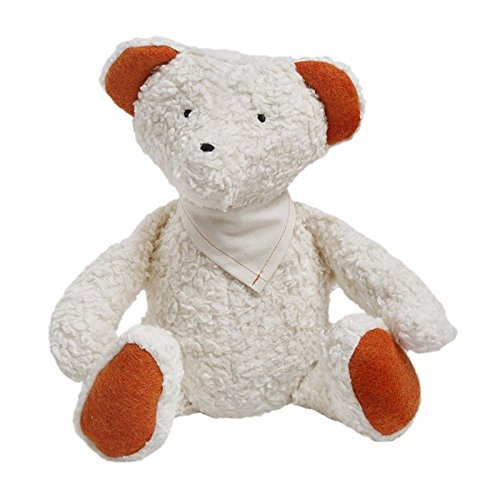 Organic Cotton Teddy filled with Wool - 1