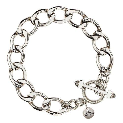 Juicy Couture Jewelry Silver Starter Heart Charm Bracelet