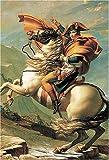 1000ピース ナポレオンのアルプス越え 100-156