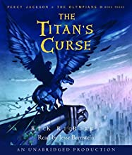 The Titan's Curse: Percy Jackson and the Olympians, Book 3 Audiobook by Rick Riordan Narrated by Jesse Bernstein