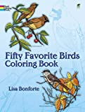 Product 0486242617 - Product title Fifty Favorite Birds Coloring Book (Dover Nature Coloring Book)
