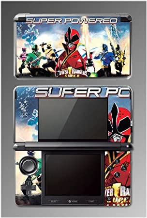 Mighty Morphin Power Rangers Super Samurai Video Game Vinyl Decal Cover Skin Protector 5 Nintendo 3DS