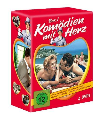 Komödien mit Herz - Box 1 (Ooh...diese Ferien - Die süssesten Früchte - Ein Herz voll Musik - Unter Palmen am blauen Meer) [4 DVDs]
