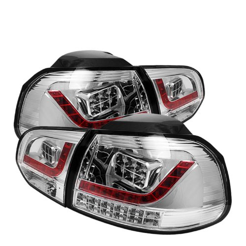 Spyder Auto Volkswagen Golf/Gti Chrome Led Tail Light
