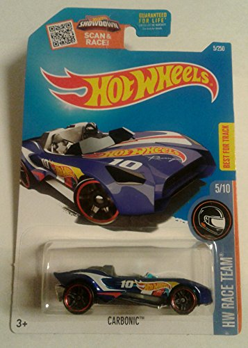 2016 Hot Wheels CARBONIC 5/250 HW Race Team 5/10 (Hot Wheels T Hunt compare prices)