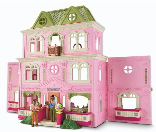 518KVRJ7rnL Cheap  Fisher Price Loving Family Grand Dollhouse (African American Family)