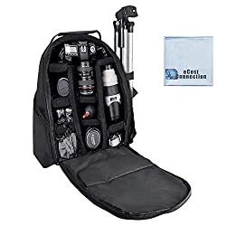 Deluxe Digital Camera / Video Padded Backpack For Nikon, Canon, Sony, Pentax DSLR Cameras, Nikon D300, D300S