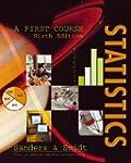 Statistics: A First Course