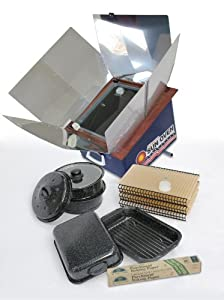 All American Sun Oven w/Christmas Accessory Package from Sun Ovens International