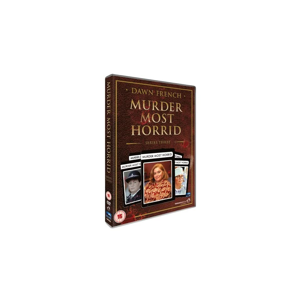 Murder Most Horrid   Series 3 ( Murder Most Horrid   Series Three ) [ NON USA FORMAT, PAL, Reg.2 Import   United Kingdom ]