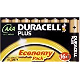 Duracell Plus MN2400 Alkaline AAA Batteries - 16-Pack
