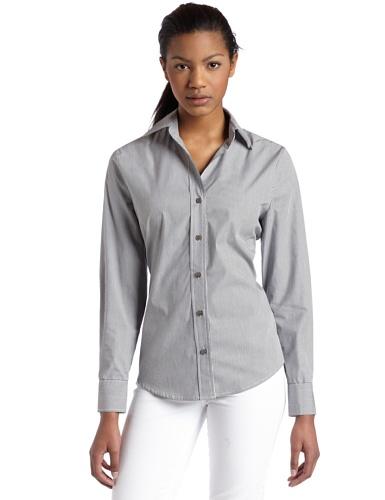 Chaus Women's Fine Stripe Shirt