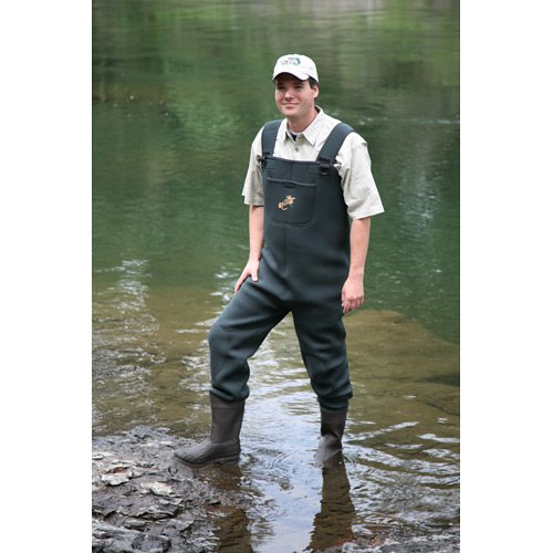 Caddis men 39 s green natural breathable wader fishing vest for Fishing waders amazon