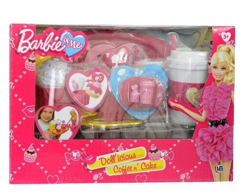 Barbie & Me Doll'Icious Coffee N' Cake (Dispatched From Uk)
