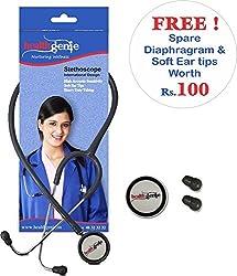 Healthgenie Mono Nurses Stethoscope HG-101 G (Grey)...
